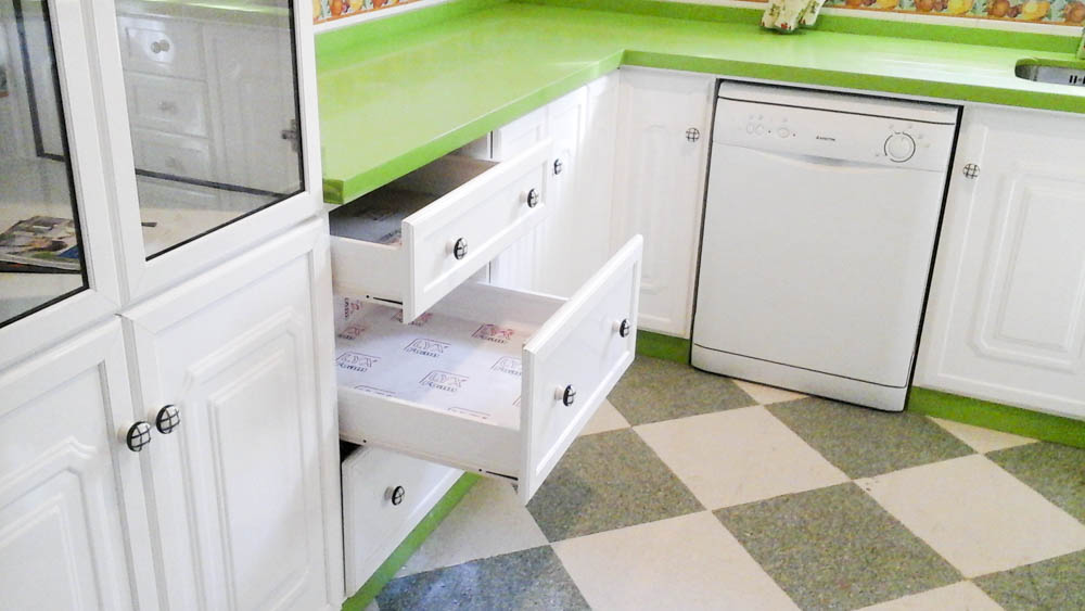 Mobiliario cocina aluminio rojas s l for Mobiliario cocina